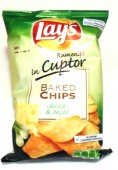 Chips LAY'S la cuptor cheese & onion